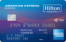 Hilton Honors American Express Business Card Logo