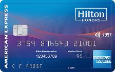 Hilton Honors American Express Surpass Card Logo