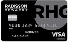 Radisson Rewards™ Premier Visa Signature® Card Image